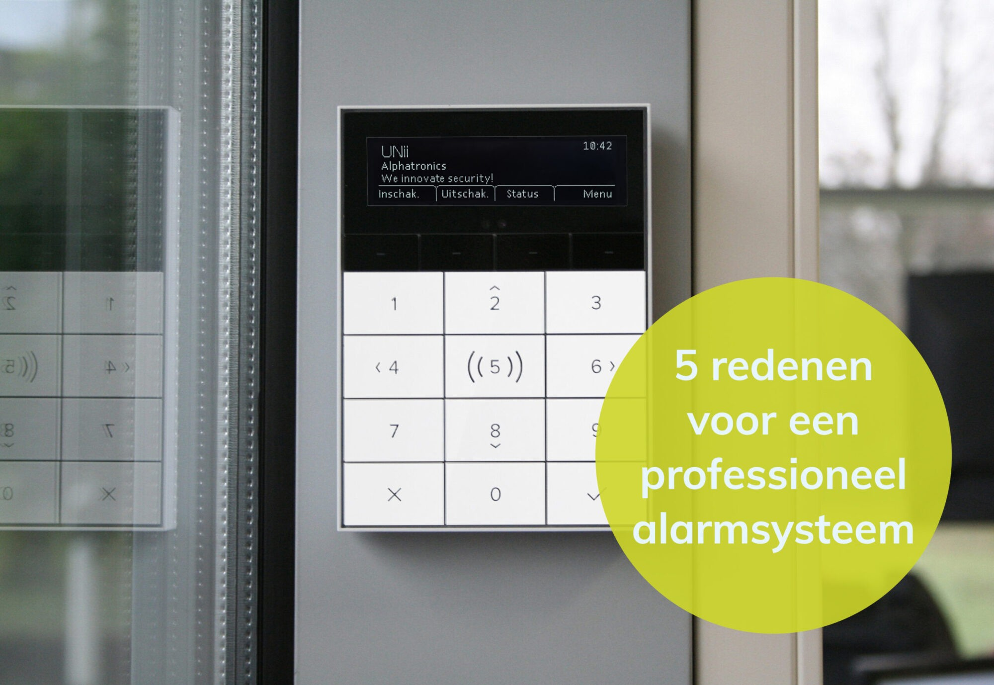 5 reasons to take a professional alarm system